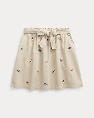 202a5754a5e3a0 Girls' Shorts & Skirts in Sizes 2-16 | Ralph Lauren