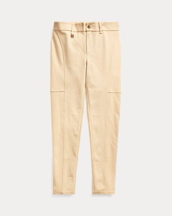 폴로 랄프로렌 걸즈 레깅스 Polo Ralph Lauren Stretch-Cotton-Blend Legging,Fall Khaki