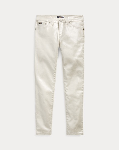 Tompkins Skinny Metallic Jean