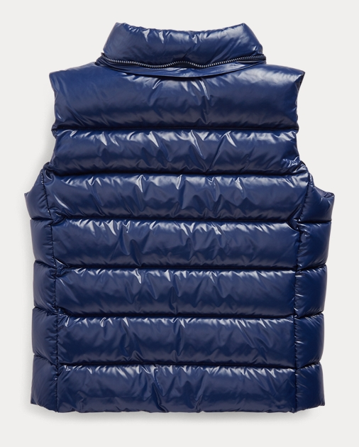 GIRLS 7-14 YEARS Quilted Down Gilet 3