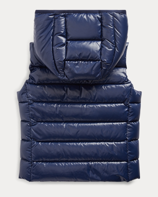 GIRLS 7-14 YEARS Quilted Down Gilet 2