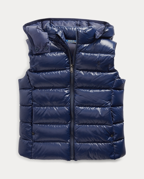 GIRLS 7-14 YEARS Quilted Down Gilet 1