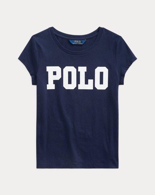 T-shirt en jersey de coton à monogramme