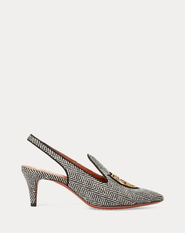 Stacy Herringbone Pump