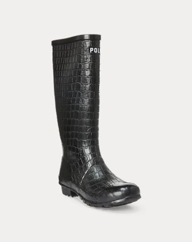 Julie Crocodile Rain Boot