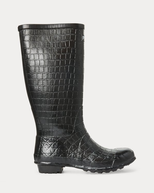 Julie Crocodile Rain Boot