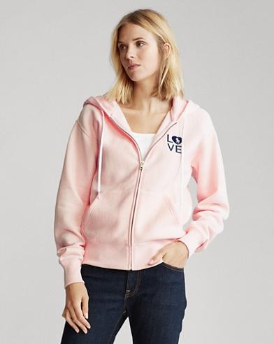 Pink Pony Graphic Zip Hoodie
