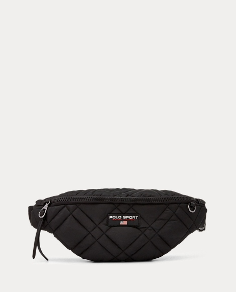 Quilted Nylon Fanny Pack