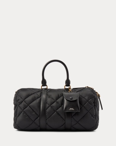 Quilted Duffle Bag