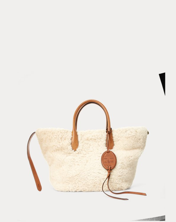 Shearling Medium Bellport Tote