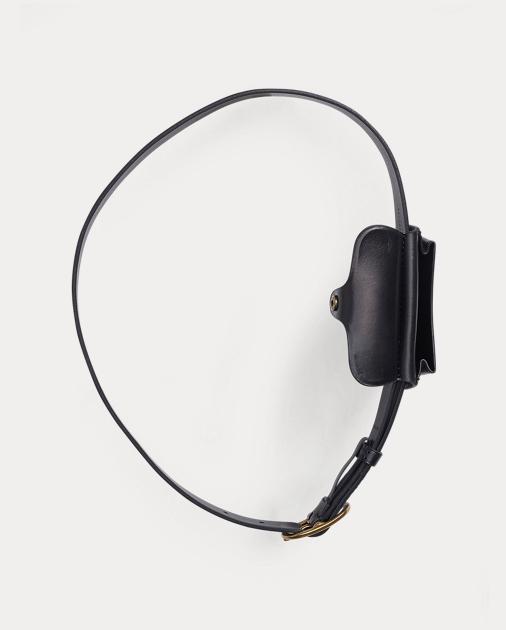 Polo Ralph Lauren Smooth Leather Skinny Belt Bag 3