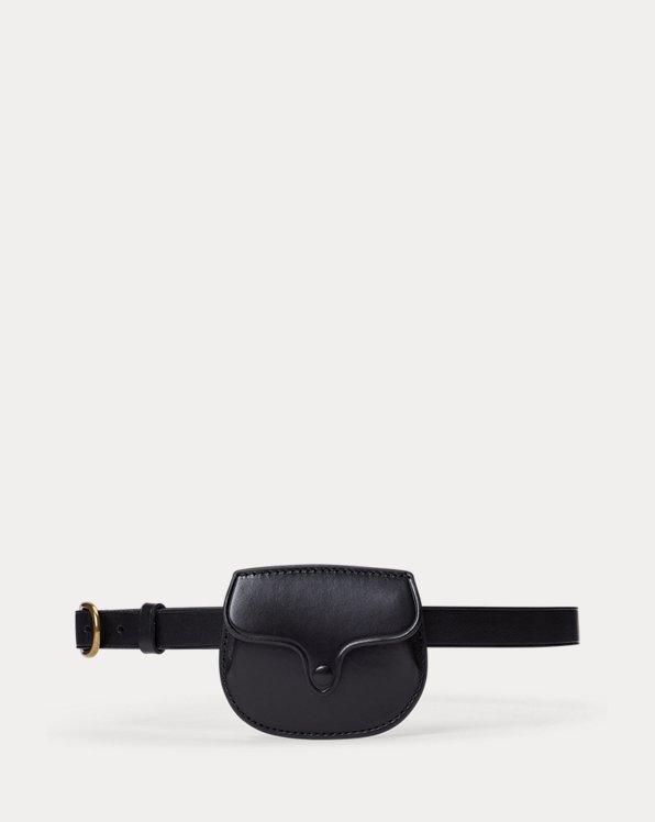 Smooth Leather Skinny Belt Bag