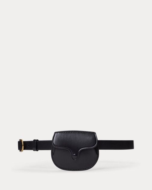 a basso prezzo 0d30e 2600c Smooth Leather Skinny Belt Bag