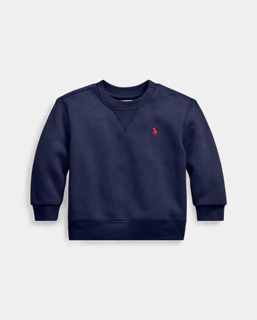 Baby Boy Cotton-Blend-Fleece Sweatshirt 1