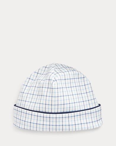 Glen Plaid Interlock Hat