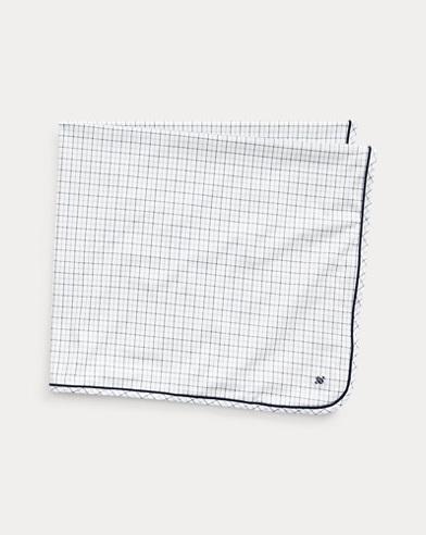 Glen Plaid Cotton Blanket