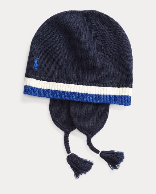 feeb8536e Merino Wool Earflap Hat