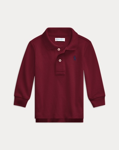 50512229 Baby Boys' Polos: Short and Long Sleeved Polo Shirts | Ralph Lauren