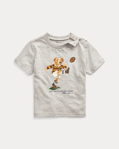 Kicker Bear Cotton Jersey Tee