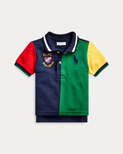 a53f24e69 Baby Boys' Polos: Short and Long Sleeved Polo Shirts | Ralph Lauren