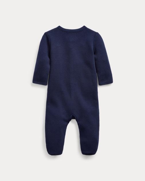 Baby Boy Combinaison bébé en coton gaufré 2