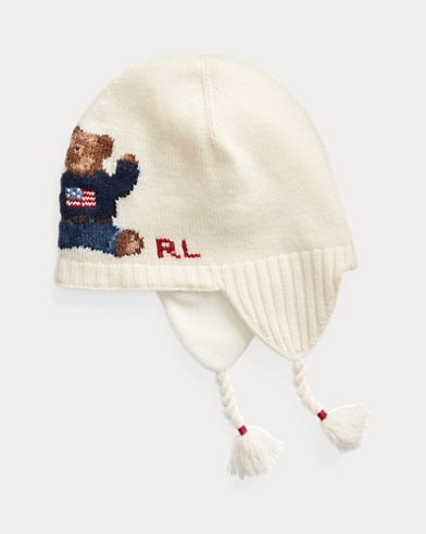 Polo Bear Earflap Hat