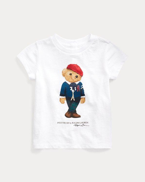 T-shirt ourson universitaire coton