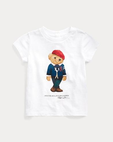 Baumwoll-T-Shirt mit College-Bear