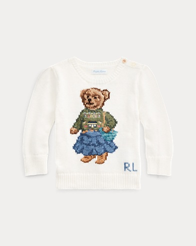 Santa Fe Bear Cotton Jumper