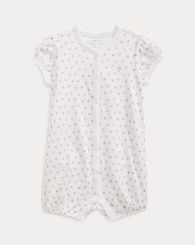 Print Cotton Shortall