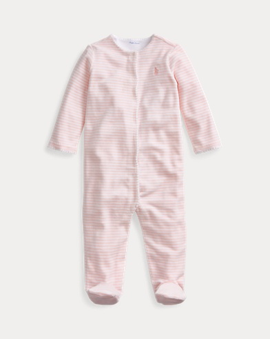 Striped Footed Coverall