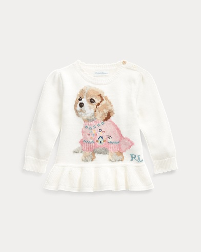 Dog Peplum Jumper