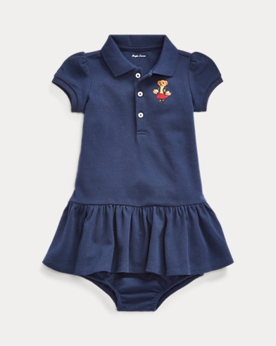 Polo Bear Pique Dress