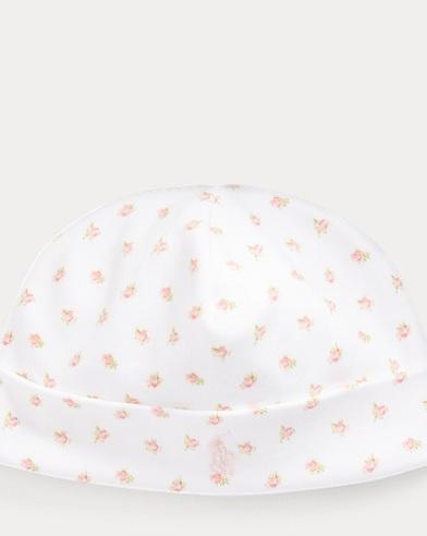 Floral Interlock Hat