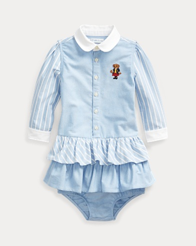 School Bear Dress & Bloomer