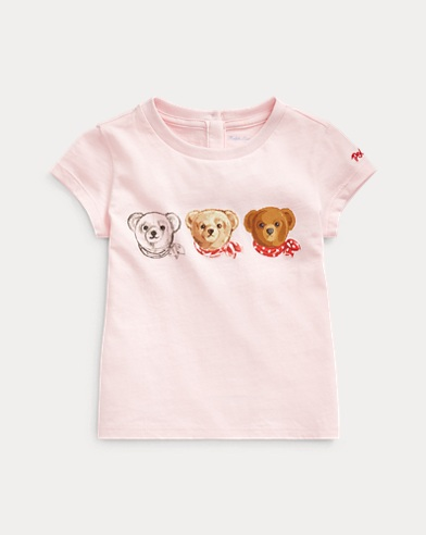Maglietta Polo Bear in jersey