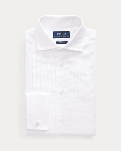 Slim Fit Cotton Tuxedo Shirt