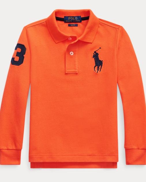 Boys 2-7 Cotton Mesh Polo Shirt 1