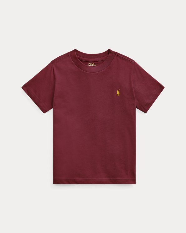 Cotton Jersey Crewneck Tee