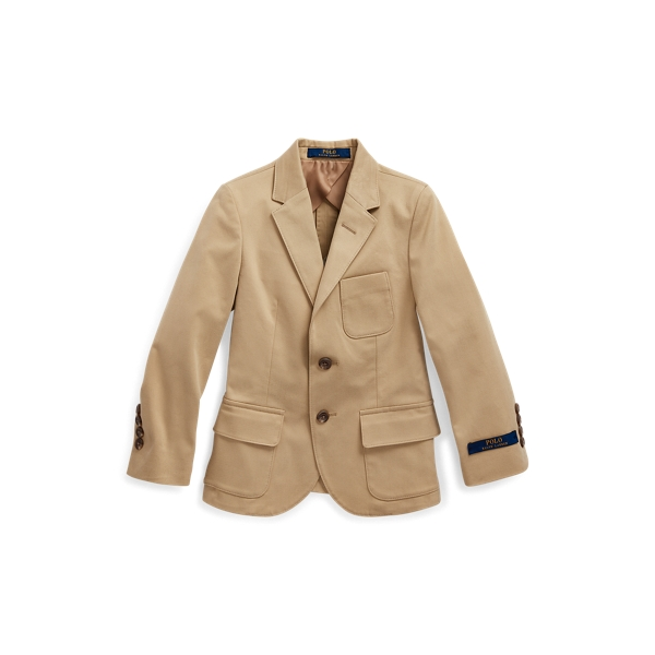 폴로 랄프로렌 남아용 치노 수트 자켓 Polo Ralph Lauren Stretch Chino Suit Jacket,Coastal Beige