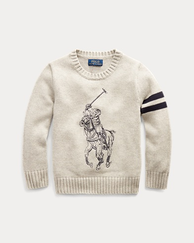 Big Pony Cotton Sweater