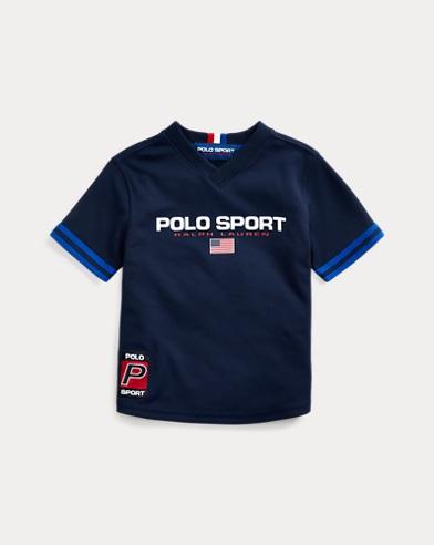 Polo Sport Mesh V-Neck Tee