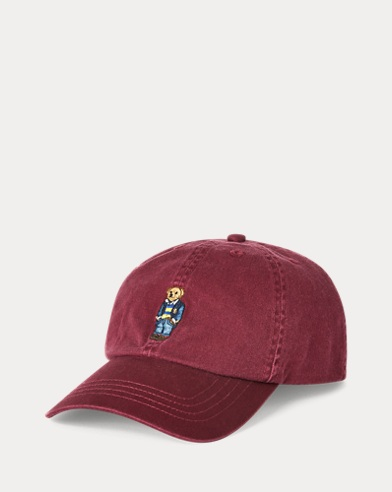 Polo Bear Chino Baseball Cap