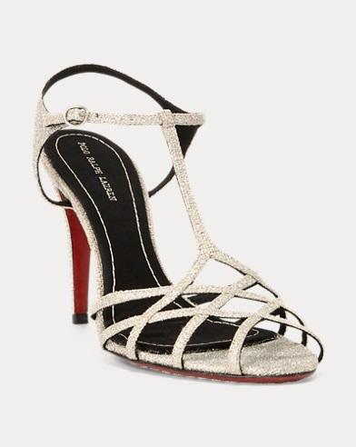 Metallic-Sandale Freida
