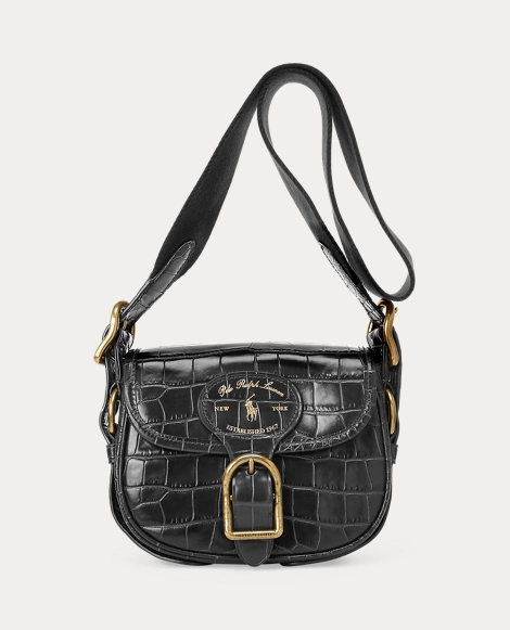 Leather Small Hutton Crossbody