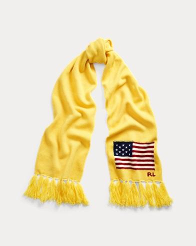 Flag Merino Wool Scarf