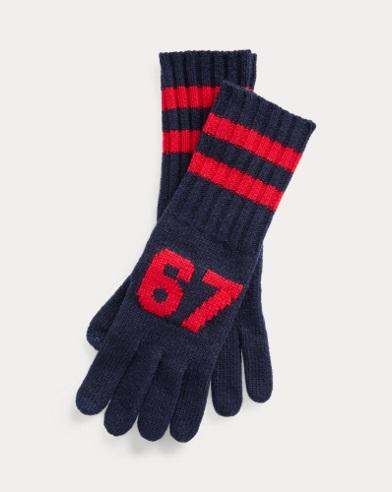 RL67 Wool-Blend Gloves