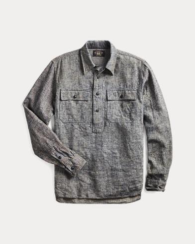 Linen Popover Workshirt