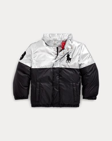 Polo Bear Foil Down Jacket