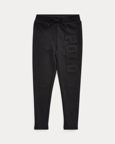 Logo Cotton-Blend-Terry Pant